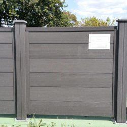 labyrinthe clôture composite