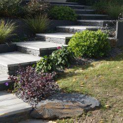 escalier dalle pierre