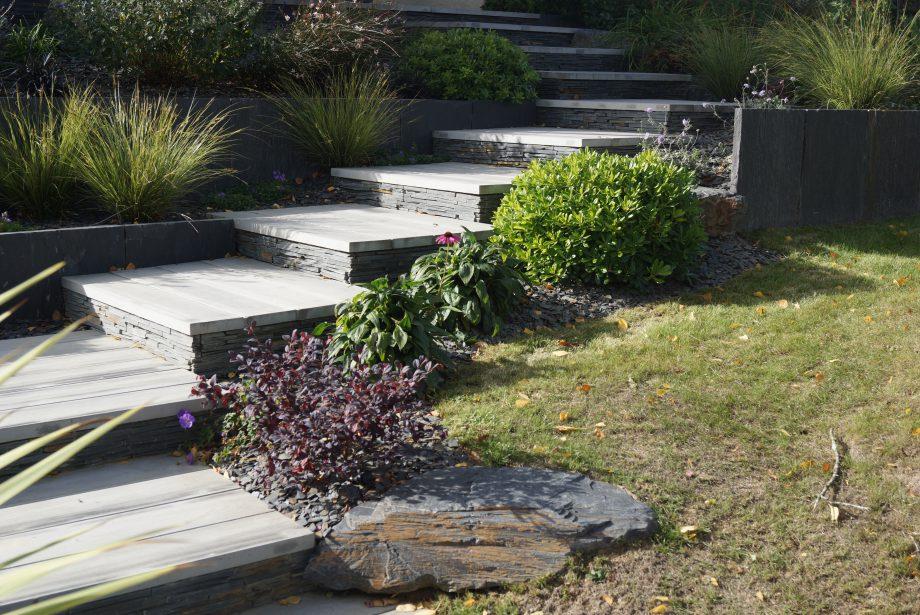 Construire un escalier dans votre jardin : Pascal Chalain